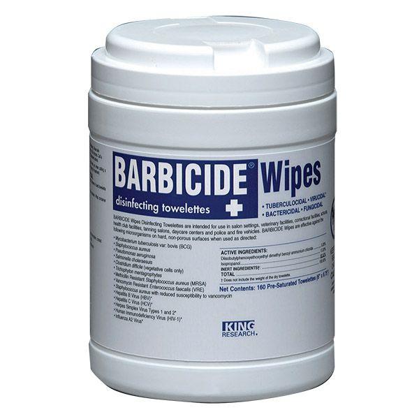 Barbicide desinfektionsservetter