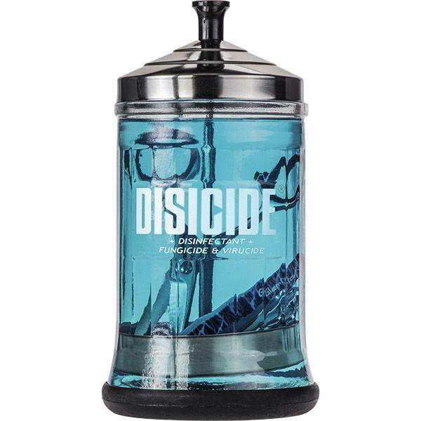 Disicide glasbehållare för desinfektion