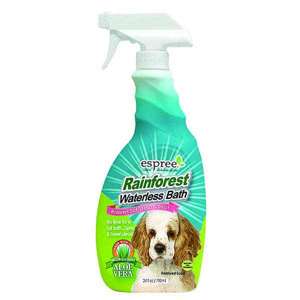 Espree Rainforest waterless torrschampo spray