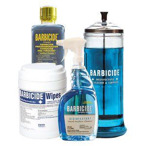 Barbicide rengöring desinfektionspaket