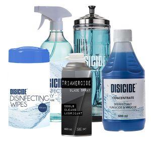 Disicide rengöring desinfektionspaket