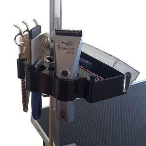 Hållare för saxar skär och trimutrustning
