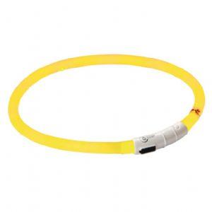 LED blinkhalsband med USB-laddare