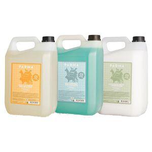 Parma pälsvård 3 x 5 liter - schampo + balsam