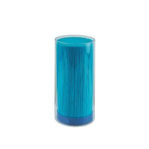 Saxhållare blå